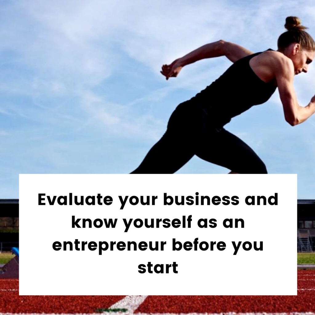 Business Evaulation for New Start Up Companies