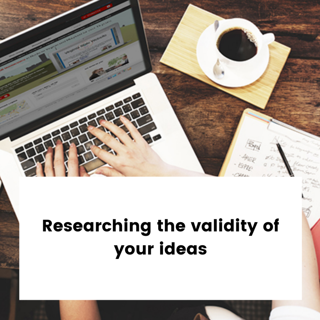 Research New Start Up Business Ideas